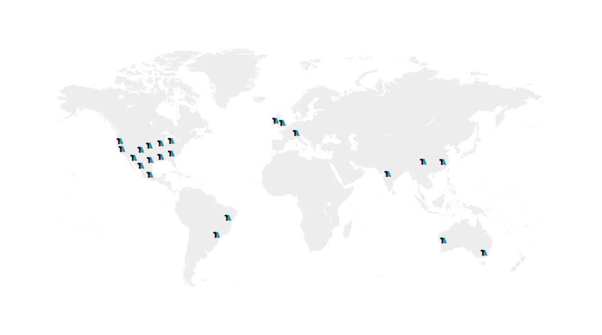 TA Systems Global Installations Map@2x