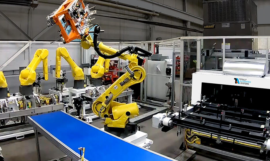 Integrated Material Handling TA Systems Photo