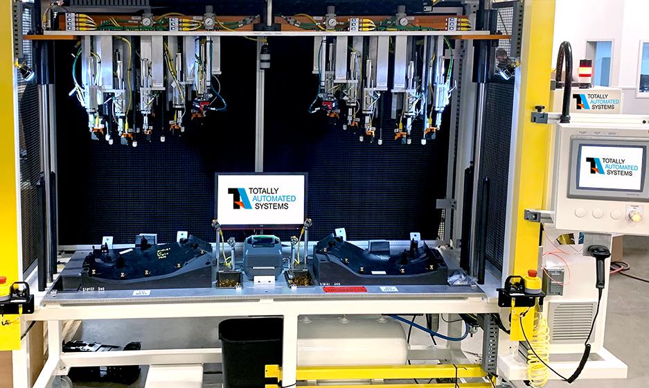 Fixed Dedicated Automated Assembly Systems Poka Yoke Clip Station Photo