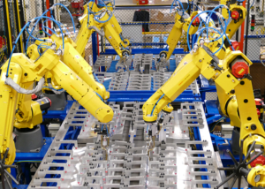 Automated Assembly Line Photo
