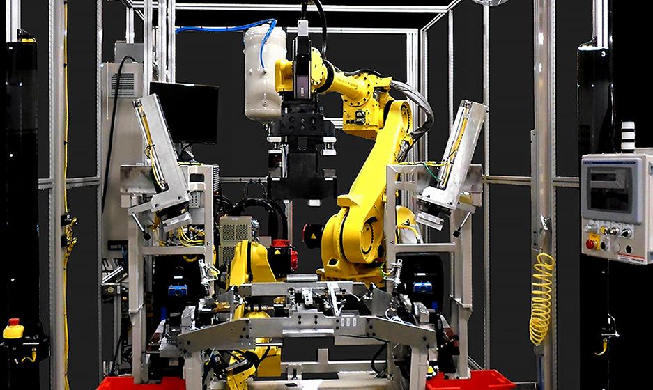 Robotic Flexible Punch & Weld Photo