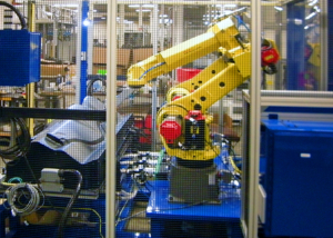 TA Systems Robotic Sonic Trim Cell