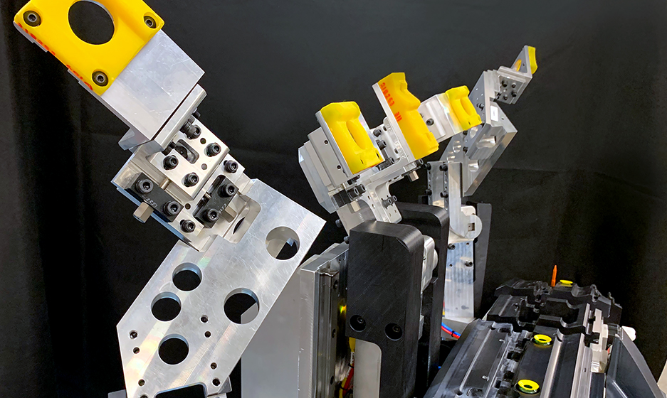 TA Systems Robotic Punch & Weld Fixtures Close Up