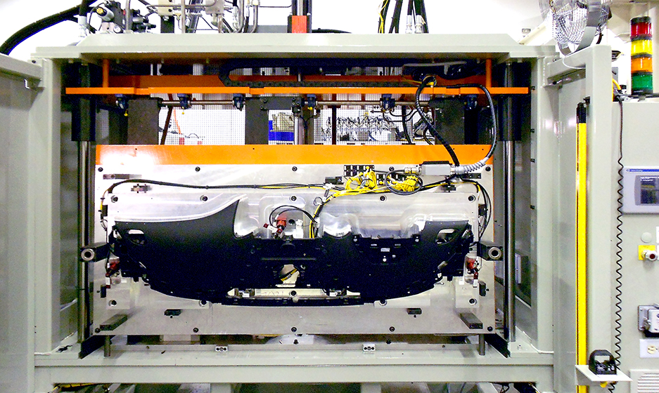 Automated Assembly Systems – Fixed Automation – Topper Press Lamination Photo