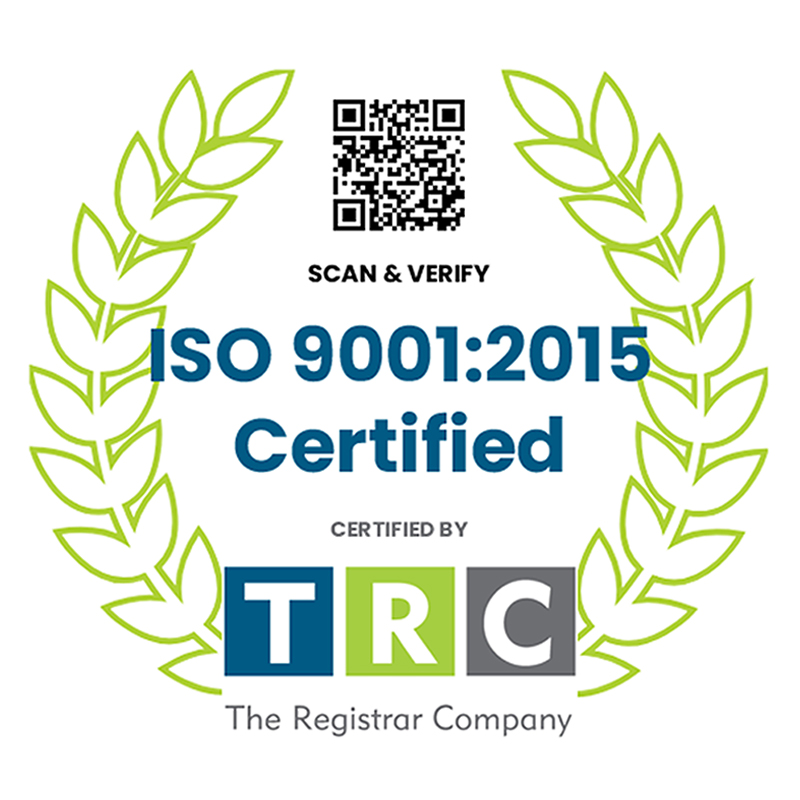 ISO 9001:2015 Certification Logo